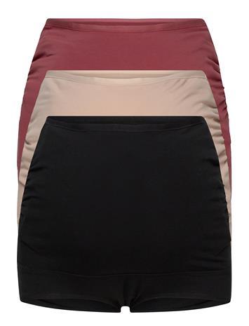 Lindex Maternity Briefs 3 P Fashion C Lingerie Panties High Waisted Panties Musta Lindex MULTI