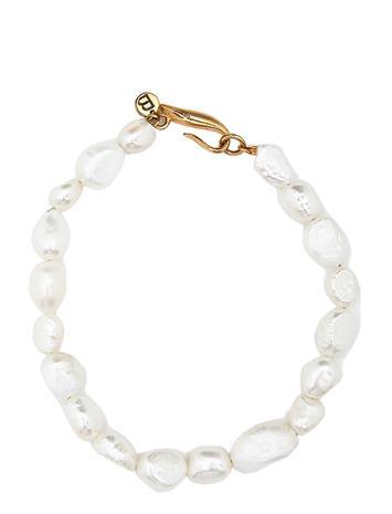 Blue Billie Irregular Pearls Bracelet Accessories Jewellery Bracelets Chain Bracelets Kulta Blue Billie GOLD