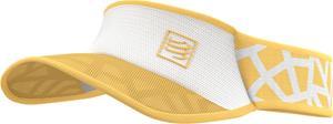 Compressport Spiderweb Ultralight Lippa, keltainen/valkoinen, Miesten hatut, huivit ja asusteet
