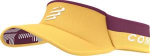Compressport Ultralight Visor, keltainen/punainen, Miesten hatut, huivit ja asusteet