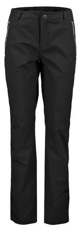 Luhta naisten softshell-housut EIKNIEMI, musta 44