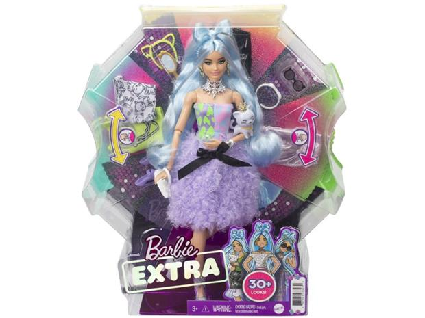 Barbie Extra Doll & Accessories Set, 3 År