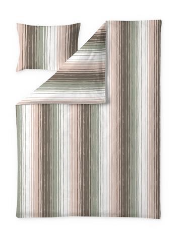 Finlayson Vyyhti -pussilakanasetti, vaaleanvihreä-vaaleanpunainen, 150 x 210 + 50 x 60 cm