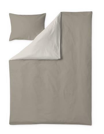 Finlayson Pakka -pussilakanasetti, ruskea-beige, 150 x 210 + 50 x 60 cm