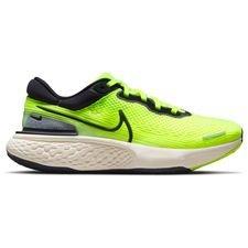 Nike Juoksukengät ZoomX Invincible Run Flyknit - Neon/Musta/Neon