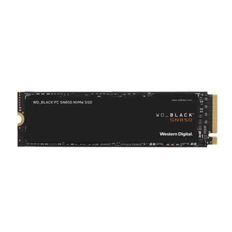 WD Black SN850 NVME (2 TB, M.2 2280, PCIe Gen4 x4) WDS200T1XHE, SSD-kovalevy