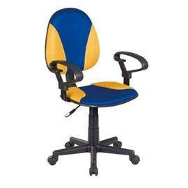 Toimistotuoli Anastacia, sininen/keltainen
