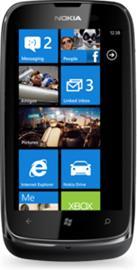 Nokia Lumia 610, puhelin