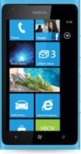 Nokia Lumia 900, puhelin