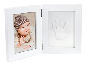 Dooky Happy Hands Double Frame 13x17 cm, White