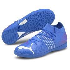 PUMA Future Z 3.2 IT Faster Football - Bluemazing/Sunblaze/Sininen Lapset