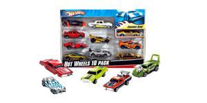 Hot Wheels, pikkuautot 10 kpl