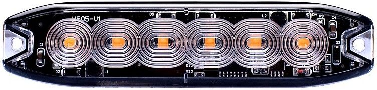 LED-tasovilkku slim 6 x LED, JOL