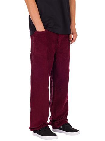 Empyre Loose Fit SK8 Cord Pants dark red Miehet