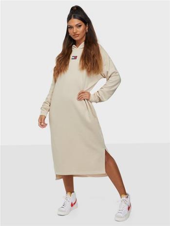 Tommy Jeans Tjw Longline Hoodie Badge Dress