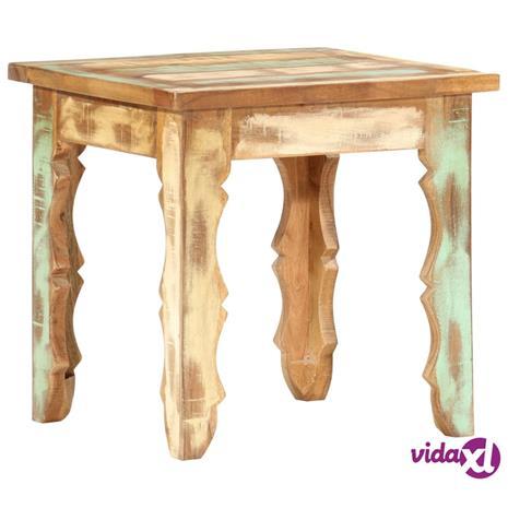 vidaXL Sohvapöytä 40x40x40 cm kierrätetty täyspuu