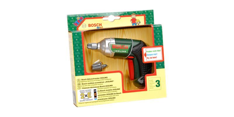 Klein Bosch Cordless toys screwdriver Ixolino (KL8602), ruuvinväännin