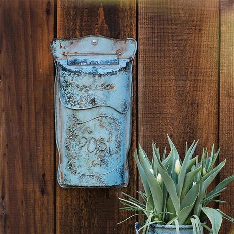 Rauta postilaatikko, pastoraalinen lukittava turvallinen metallinen postilaatikko