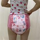 Abdl aikuisten vaippa pvc uudelleenkäytettävät vauvan housuvaipat