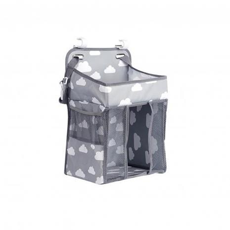 Newborn Multifunctional Conveneient Practical Durable Hanging Storage Bag (grey)