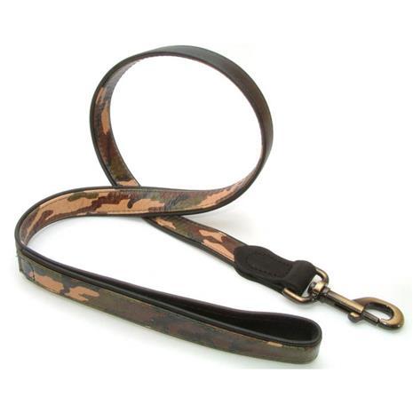 Vital Pet Products Leather Combat Dog Lead