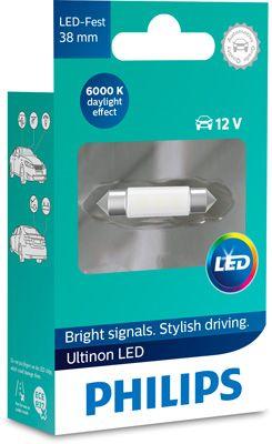 LED-poltin, 0,6 W, 6000 K, sukkula, Philips