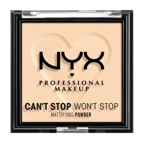 NYX Professional Makeup Can't Stop Won't Stop Mattifying Powder Light Medium