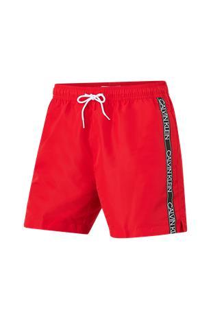 Calvin Klein Underwear - Uimashortsit Medium Drawstring - Punainen