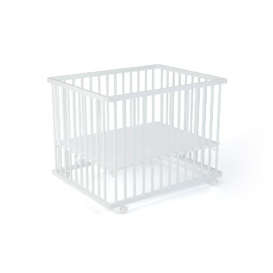 geuther lawalu Leon leikkikehä 75 x 95 cm valkoinen / tavallinen valkoinen