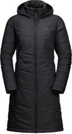 Jack Wolfskin North York Coat W Musta XS