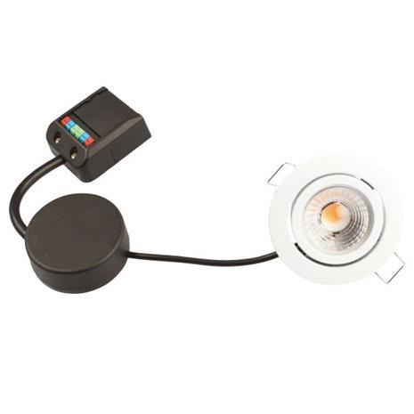 Scan Products Claudia Minidownlight-valaisin 3000 K, 4,5 W Mattavalkoinen