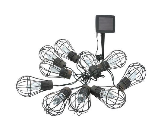 LED-aurinkokenno ketju ulkokäyttöön 10xLED / 1xAAA IP44