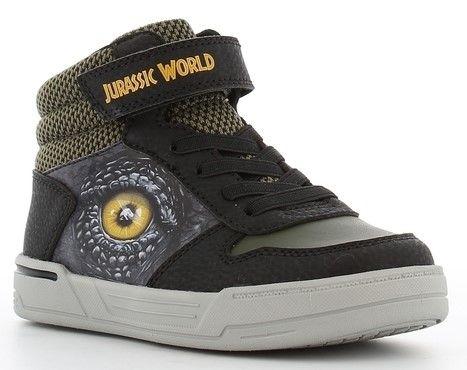 Jurassic World Mid Tennarit, Black/Khaki, 26