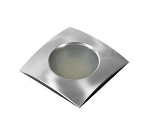 Azzardo AZ0811 - Kylpyhuoneen upotettu valo EZIO 1xGU5,3/50W/230V IP54
