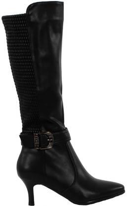 XS Saappaat Fuzz 4044 musta, Naisten kengät