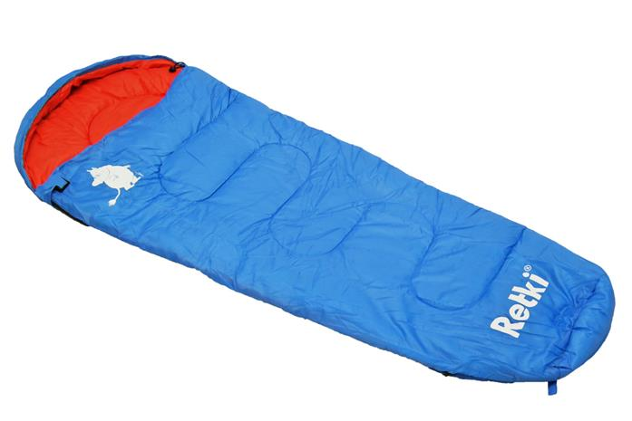 Retki Lasten makuupussi muumit retkellä