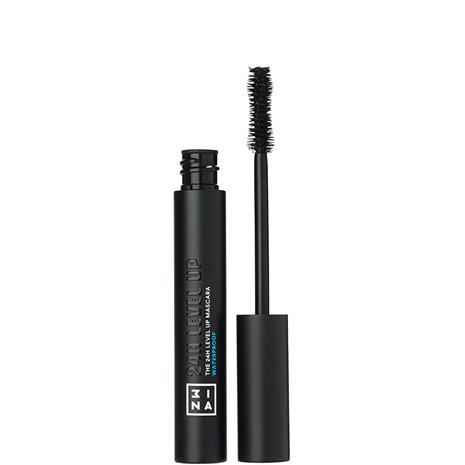 3INA The 24h Level Up Mascara Waterproof 900 - Black