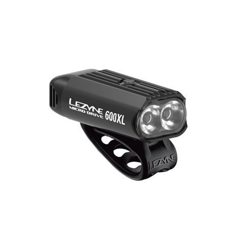 LEZYNE Micro Drive 600XL ladattava pyörän led-etuvalo