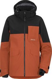 Didriksons Luke 2 Boys Jacket Ruskea/Musta 160