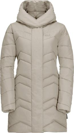 Jack Wolfskin Kyoto Coat W Vaaleanharmaa M