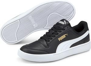 Puma Shuffle Jr Tennarit, Black/White, 39