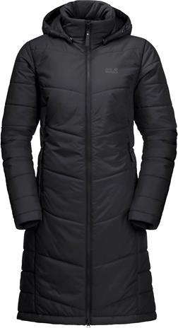 Jack Wolfskin North York Coat W Musta S