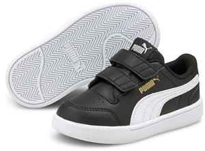 Puma Shuffle V INF Tennarit, Black/White, 23