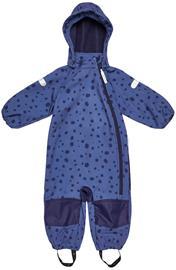 Nordbjørn Orrvik Softshell Haalari, Dit Dots Blue Indigo, 98