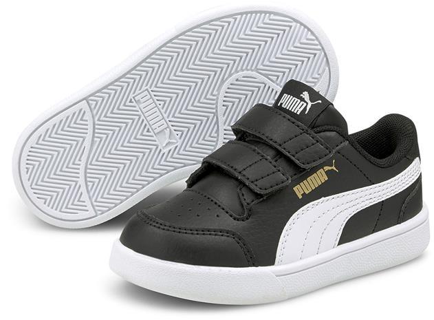 Puma Shuffle V INF Tennarit, Black/White, 25