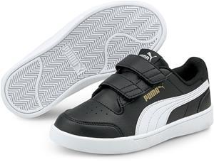 Puma Shuffle V PS Tennarit, Black/White, 35