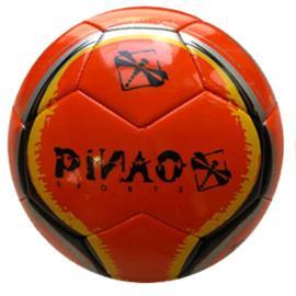 PiNAO Sports jalkapalloraketti punainen