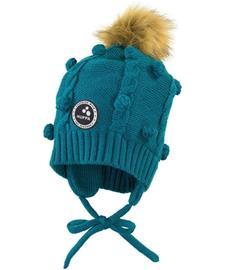 Huppa MACY lasten talvipipo, sininen M (51-53 cm)