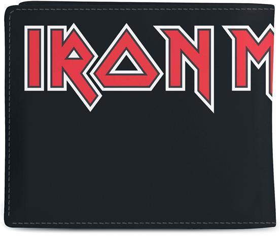 Iron Maiden - - Lompakko - Miehet - Musta