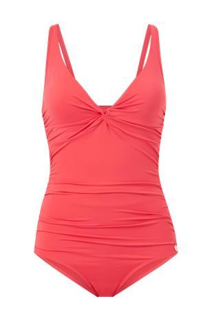 Panos Emporio - Uimapuku Simi Solid Swimsuit - Punainen